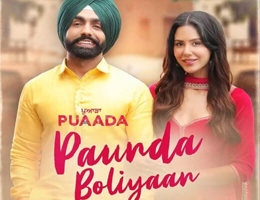 Paunda Boliyaan Hindi Lyrics – Ammy Virk