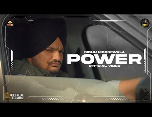 Power Hindi Lyrics - Moosetape