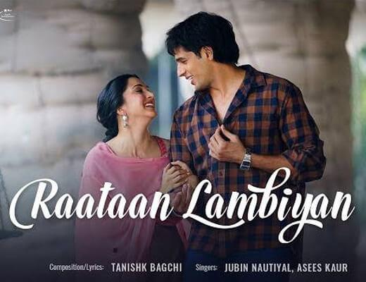 Raataan Lambiyan Hindi Lyrics – Jubin Nautiyal