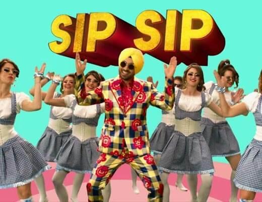 Sip Sip Hindi Lyrics - Arjun Patiala