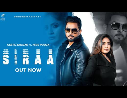 Siraa Hindi Lyrics – Miss Pooja