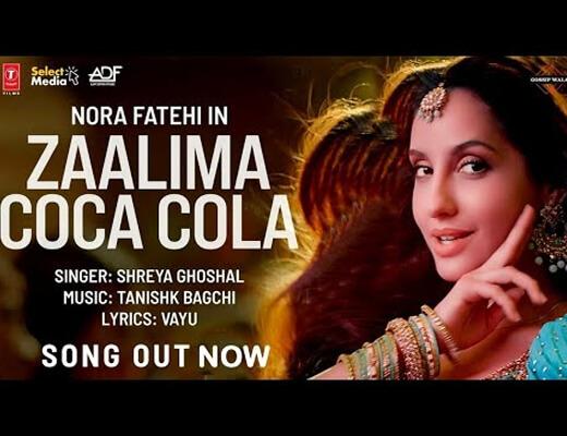 Zaalima Coca Cola Hindi Lyrics – Bhuj