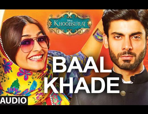 Baal Khade Hindi Lyrics - Khoobsurat