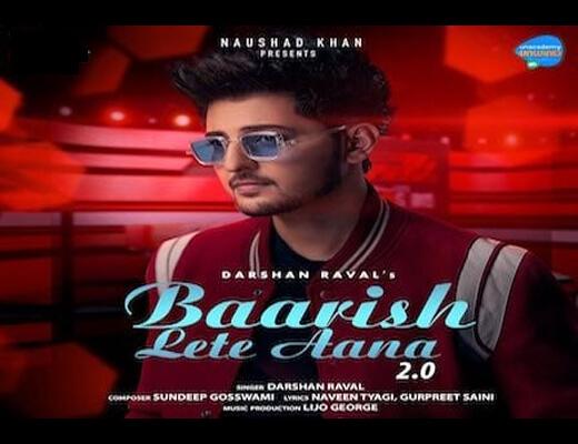 Baarish Lete Aana 2.0 Hindi Lyrics – Darshan Raval