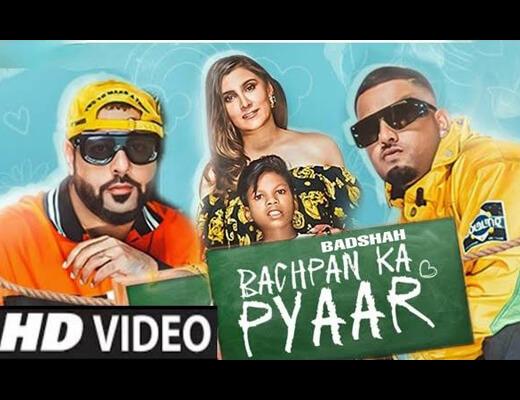 Bachpan Ka Pyaar Hindi Lyrics – Badshah