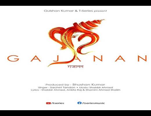 Gajanan-Hindi-Lyrics-–-Sachet-Tandon