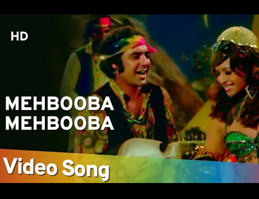 Mehbooba Mehbooba Hindi Lyrics - Sholay