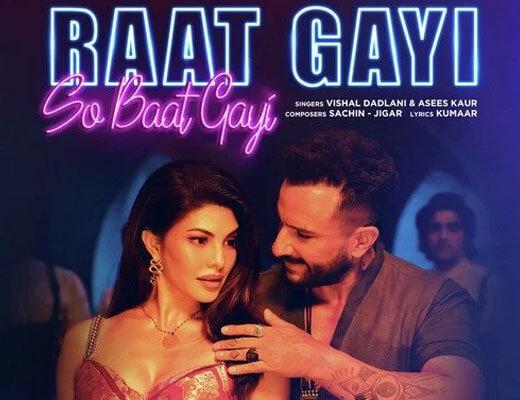 Raat Gayi So Baat Gayi Hindi Lyrics - Bhoot Police