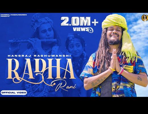 Radha Rani Hindi Lyrics – Hansraj Raghuwanshi