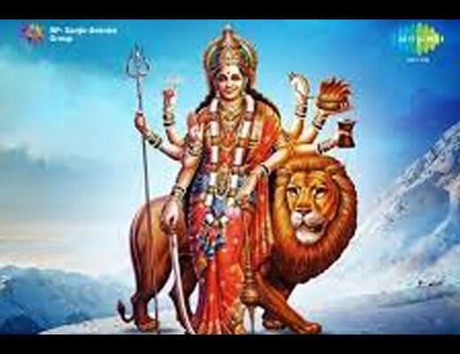 Jai Jai Sherawali Maa Hindi Lyrics - Asha Bhosle