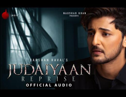 Judaiyaan Reprise Hindi Lyrics - Darshan Raval