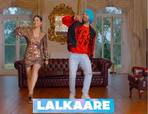 Lalkaare Hindi Lyrics - Diljit Dosanjh