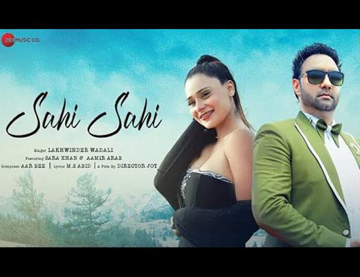 Sahi Sahi Hindi Lyrics – Lakhwinder Wadali