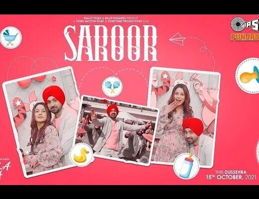 Saroor Hindi Lyrics – Diljit Dosanjh