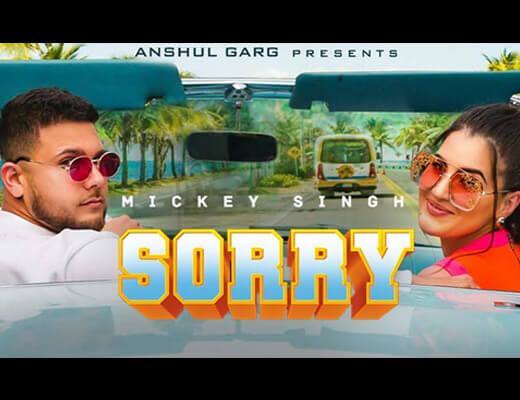 Sorry Hindi Lyrics - Mickey Singh