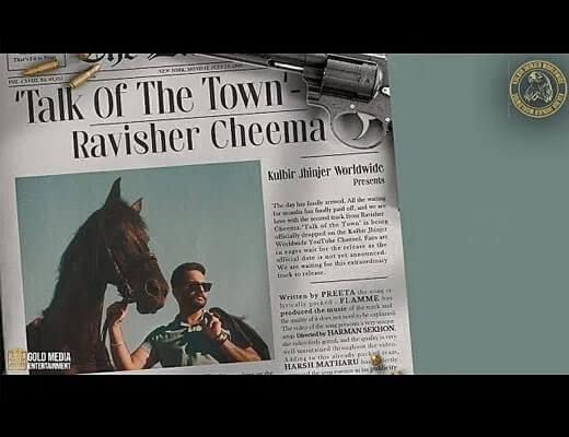 Talk of The Town Hindi Lyrics - Ravisher Cheema